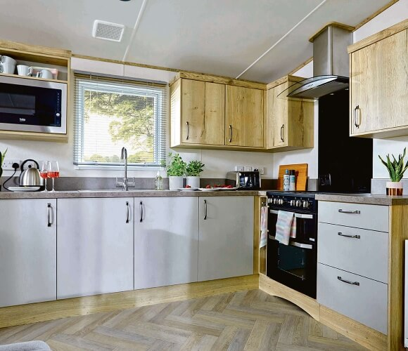 Super Luxury Caravans (2 Bed) image