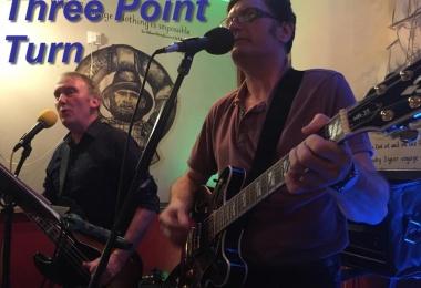 Live Music - Three Point Turn