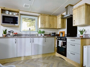 Super Luxury Caravans (3 Bed) Northcliffe