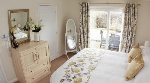 Bedroom in Lemon Cottage