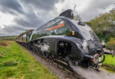 60009 Union of South Africa visit at North Yorkshire Moors Railway