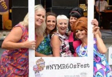 60s Fest 2019 at North Yorkshire Moors Railway